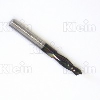 SOLID CARBIDE SPIRAL CUTTER, FINISH STYLE Z=2 KleinDIA® COATED
