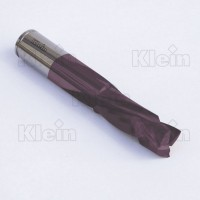 SOLID CARBIDE MORTISE COMPRESSION Z=3+3 KleinDIA® COATED