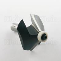 HW BEVEL BITS WITH BALL BEARING GUIDE Z=2