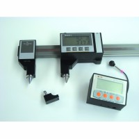 GAUGE WITH WIRELESS CONNECTION FOR LINEAR, INSIDE/OUTSIDE, DISTANCE BETWEEN HOLES, OUT OF SQUARE ANGLES MEASUREMENTS