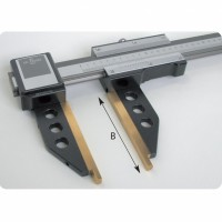 GAUGE WITH NONIUS FOR LINEAR-INSIDE/OUTSIDE MEASUREMENTS, STEEL JAWS
